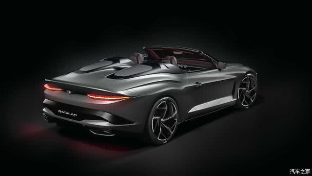 售150万英镑 Bacalar提供六种车身主题