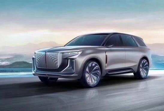 一汽红旗计全新大型纯电动SUV概念车——红旗E115将量产