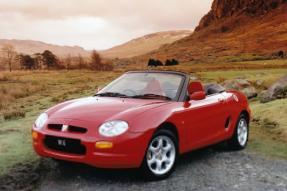 MGF / TF(1995-2005):最后一辆小型英国跑车,3,800欧元起